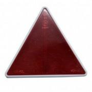 Catadioptru reflectorizant triunghi fixare cu surub, inaltime 140 mm , 1 buc.