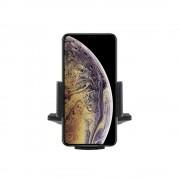 Shop4 - iPhone Xs Max Autohouder Verstelbare CD Houder met Klem Zwart