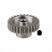 Generic Black : Metal 27 Teeth Motor Pinion Gear Diameter hole: 3.175mm Fit 540 Engine Motors For RC WLtoys 1:18 A959 A969 A979 k929 Model Car