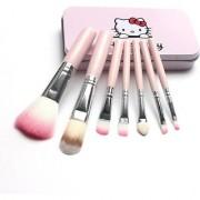 Hello Kitty Soft Makeup Brush Set (Pack of 7)-002
