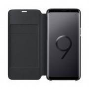 Husa Flip Cover Samsung EF-NG960PBEGWW Book LED View Black pentru Galaxy S9
