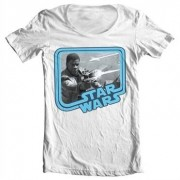 Star Wars 7 - Finn Wide Neck Tee, Wide Neck Tee