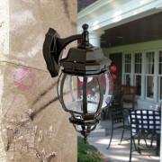 DURALITE SRL Boston Grande Lanterna A Parete Per Esterni Classica Tradizionale