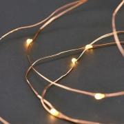House Doctor Světelný řetěz Copper - 80 bílý LED 10 m 3xAA VG0210