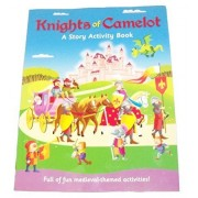 Educational Story Activity Book ~ Knights Of Camelot (2014; Medieval Themed Activities)