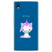 Husa silicon pentru Allview X2 Soul Style Horn To Be Wild Cute Unicorn