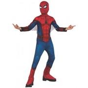 Rubie's Marvel Spider-Man Far from Home Disfraz y máscara para niños de Spiderman, Rojo/Azul, Large