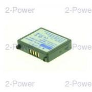 2-Power Digitalkamera Batteri Panasonic 7.2v 760mAh (CGA-S303)