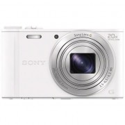 Aparat foto digital Sony Cyber-Shot DSC-WX350, 18 MP, Wi-Fi, White