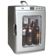 Prosklená chladnička - 25L / 27 plechovek