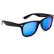 TheWhoop Mirror Blue Wayfarer Unisex Sunglasses For Mens Women Girls Boys