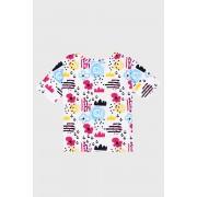 Tricou Funny fetite multicolor 110116