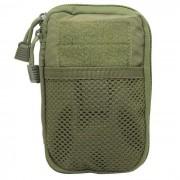 protectora CS bolsa de almacenamiento de equipos accesorios de nylon - verde militar