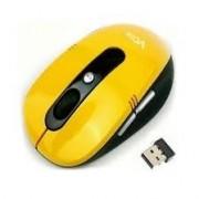 Mouse, VCom, Wireless, 1000dpi, nano receiver, Yellow (DM502)
