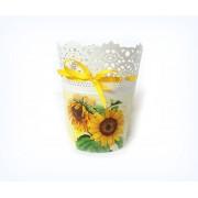 Ghiveci decorativ floarea soarelui - 121745