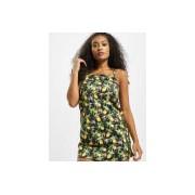 Missguided / jurk Tie Strap Lemon Cami in zwart - Dames - Zwart - Grootte: 34
