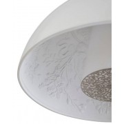 Lampara colgante skygarden blanco 40 cm