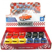 12 pcs in Box: 5 1955 Chevy Stepside Pickup 1:32 Scale (Black/Blue/Red/Yellow)