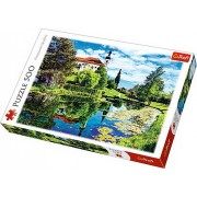 Puzzle Lac in Bavaria, 500 piese