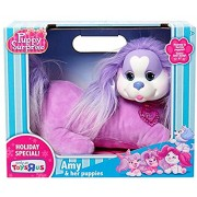 PlushDeluxe Puppy Surprise Amy & Her Puppies Plush Toy [Holiday Edition]