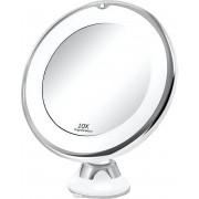 Make-up spiegel met verlichting - LED - Wit - Zoom - Voor Make-up, Verzorging