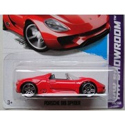 HOT WHEELS HW SHOWROOM RED PORSCHE 918 SPYDER 175/250