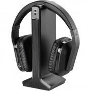 Thomson WHP-5327 bežični tv over ear slušalice preko ušiju kontrola glasnoće crna
