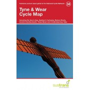 Fietskaart 34 Cycle Map Tyne & Wear | Sustrans