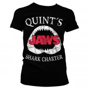 Jaws - Quint´s Shark Charter Girly Tee