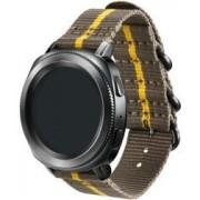 Samsung Origineel Samsung Premium Nato Universeel Smartwatch 20MM Bandje Grijs