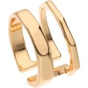 TOSH Ringe Ring goldglänzend in ausnehmend glamourösem Design Gr. 58