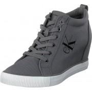 Calvin Klein Jeans Ritzy Grey, Skor, Sneakers & Sportskor, Höga sneakers, Grå, Dam, 38