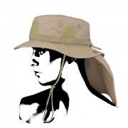 Kapelusz wojskowy turystyczny Boonie Hat piaskowy Camo