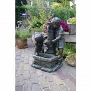 Ubbink Fontaine de jardin Atlanta Ubbink grise 70 cm