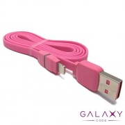 USB data kabal REMAX Breathe RC-029i za Iphone 5G/5S/SE/5C/6/6S/6 PLUS 1m pink