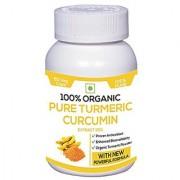 Perennial Lifesciences Organic Turmeric Curcumuin Extract 95% Piperine 95% Extra Bioavailable 800mg 60 Veg Capsules
