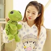 Ocamo Cute Animal Stuffed Green Sea Turtle Plush Doll Toy for Baby Child Gift
