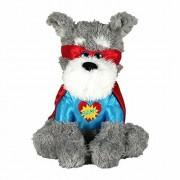 "Valentines Day Super Hero Puppy Dog Stuffed Animal 13"" Plush Love Bandit Pup"