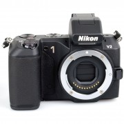 Nikon Cámara Híbrida Nikon 1 V2 Sin objetivo Negro