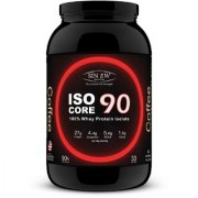 Sinew Nutrition Isocore90 100 Whey Protein Isolate Powder 1 Kg / 2.2 Lbs - Coffee
