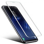 Royal Mart Tempered Glass Screen Protector With Installation Kit For Samsung Galaxy S8 PLUS