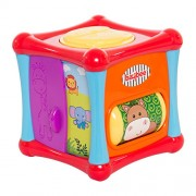 BAYBEE Toddler's 6 Sides of Play Learners Activity Cube with Multipurpose Educational Toys (Multicolour, BBACPL501)