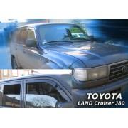 Paravanturi Geam Auto TOYOTA LAND CRUISER J80 an fabr. 1990-1998 ( Marca Heko - set FATA + SPATE )
