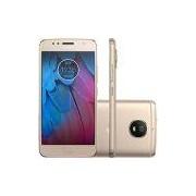 Smartphone Motorola Moto G 5S Dual Chip Android 7.1.1 Nougat Tela 5.2 Snapdragon 430 32GB 4G Câmera 16MP - Dourado