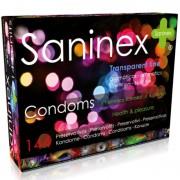 Saninex preservativos aromáticos ultra delgados 144 uds