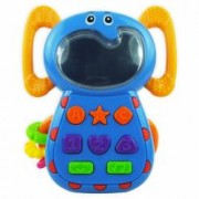 Jucarie telefon muzical Elefant Baby Mix