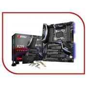 Материнская плата MSI X299 GAMING PRO CARBON AC