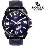 Romex Super Smile Day N Date Analog Dial Men Watch-Dd-222Blkbu