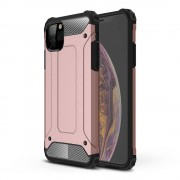 Lunso - Armor Guard hoes - iPhone 11 Pro Max - Rose Goud