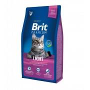 Hrana uscata pentru pisici Brit Premium Cat Light, 8 Kg